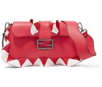 Bead Embellished Shoulder Bag Red Size --