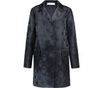 Jacquard silk-blend jacket