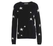 Intarsia cashmere sweater