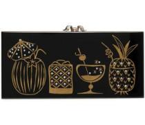 Drink Up Penelope! embellished perspex clutch