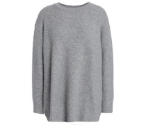 Cashmere-blend Sweater Gray