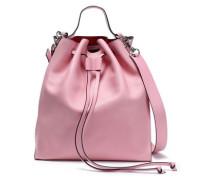 Leather Bucket Bag Baby Pink Size --
