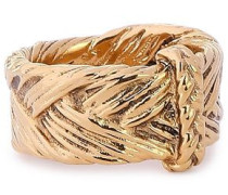18-karat Gold-plated Ring Gold  6