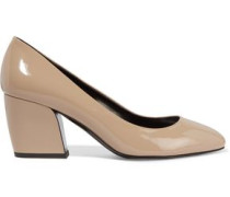 Calamity patent-leather pumps