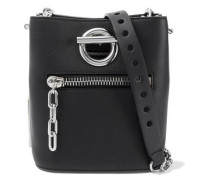 Riot Pebbled-leather Bucket Bag Black Size --
