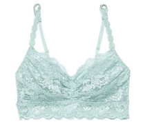 Woman Never Say Never Sweetie Scalloped Stretch-lace Bralette Mint