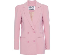 Ariel double-breasted crepe blazer