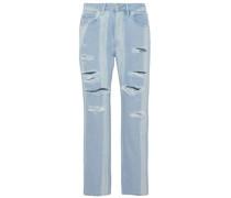 Higher Ground Shatter distressed boyfriend jeans