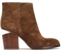 Gabi Suede Ankle Boots Light Brown