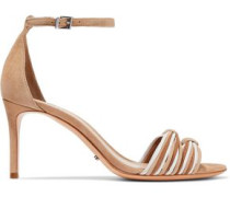Joolian knotted suede sandals
