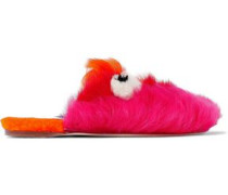 Leather Slippers Multicolor