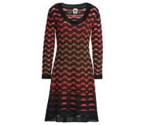 Crochet wool-blend dress