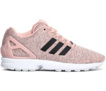 Zx Flux Mélange Knitted Sneakers Pastel Pink