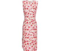 Brocade Dress Beige Size 12