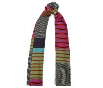 Metallic Jacquard-knit Scarf Multicolor Size --