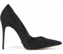 Barala mirrored-leather pumps