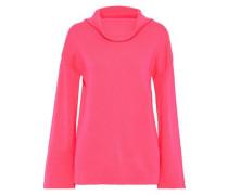 Merino Wool Top Bright Pink