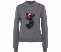 Grace sequin-embellished merino wool sweater