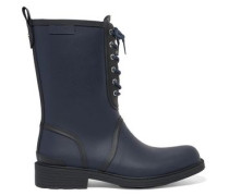 Ansel lace-up rubber rain boots