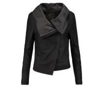 Sinoia draped leather jacket