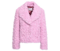 Georgia Faux Shearling Jacket Baby Pink