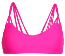 Knotted Bikini Top Bright Pink