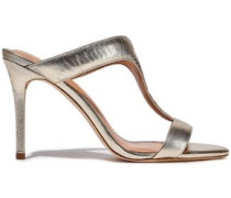 Arya Leather Sandals Gold