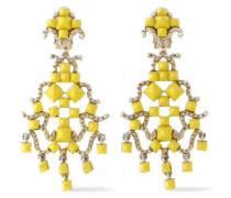 Gold-tone Rockstud earrings