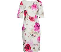 Floral-print stretch-cotton dress