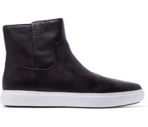 Tyler leather slip-on sneakers