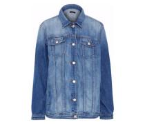 Mimic oversized denim jacket