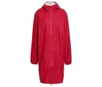 Shell Hooded Raincoat Crimson  /XS