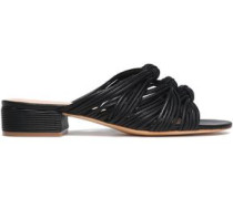 Wren knotted leather sandals