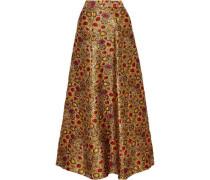 Terilyn brocade maxi skirt