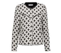 Handi cotton-blend bouclé-tweed jacket
