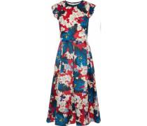 Hadley floral-print silk-gazar dress