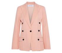 Button-detailed Twill Blazer Blush Size 00