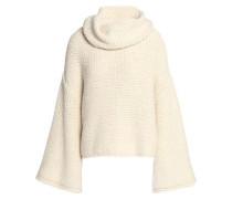 Alpaca-blend Turtleneck Sweater Off-white