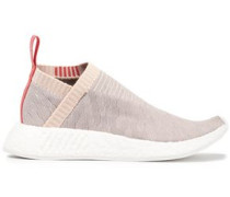 NMD CS2 Pk stretch-knit slip-on sneakers