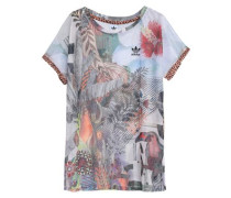 Printed Mesh T-shirt Multicolor