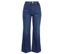 Justine High-rise Kick-flare Jeans Mid Denim  4
