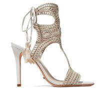 Veca crocheted sandals