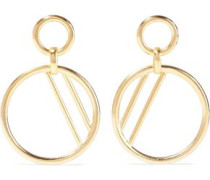 24-karat Gold-plated Earrings Gold Size --