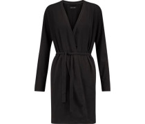 Stretch-Pima cotton robe