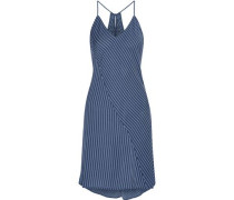 Striped voile nightdress