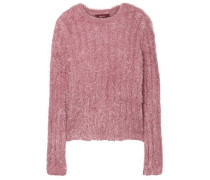 Woman Margo Ribbed Lurex Sweater Antique Rose