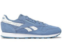 Suede Sneakers Light Blue