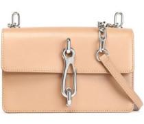 Leather Shoulder Bag Neutral Size --
