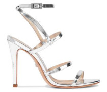 Ilara patent-leather sandals