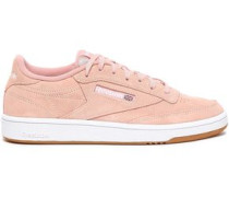 Suede Sneakers Blush